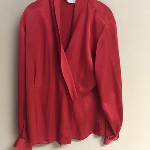 Jackets & Blazers - Silk Blazer